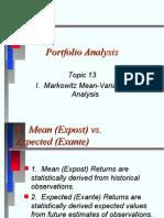 portfolio management ppt