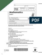 Question-Paper-Level-2-Mathematics-November-2017