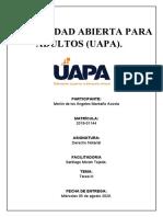 Tarea 3 de Derecho Notarial..docx