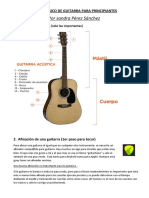 CURSO BÁSICO DE GUITARRA PARA PRINCIPIANTES