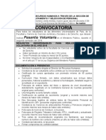 CONVOCATORIA DE PASANTIAS EN EL MP