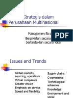 Isu-isu Strategis dalam Perusahaan Multinasional