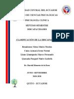 Informe final Clasificacion de la Discapacidad.docx