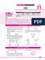 imo_sample_paper_class-11