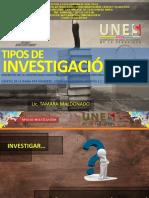 16 TIPOS DE INVESTIGACION.pptx