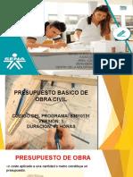 2. ORIENTACIÓN  DE PRESUPUESTOS