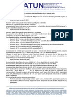 ANALISIS ACUERDO PARITARIO