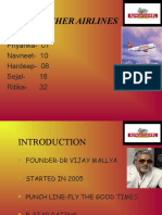 KING FISHER AIRLINES PPT