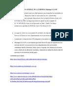 DESCRIPCIÓN GENERAL DE LA EMPRESA Montagas S