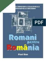 Romani Pentru România