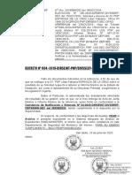 Decreto Nro. 004-2020- Archivamiento de s1 Espinoza de La Cruz - 23jun2020