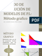 MÉTODOS DE RESOLUCIÓN DE MODELOS DE PROGRAMACIÓN LINEAL