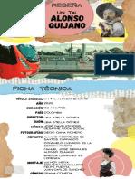 Reseña - Un tal Alonso Quijano