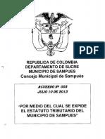 Acuerdo-003-julio-10-de-2015 ESTATUTO DE RENTA SAMPUES.pdf
