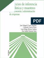 [Colección Economía y Empresa.] Casas Sánchez, José Miguel - Ejercicios de inferencia estadística y muestreo para economía y administración de empresas (2016, Ediciones P.pdf
