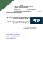 Aplicación del análisis de regresión lineal simple para la estimación de los precios de las acciones de facebook.pdf