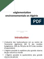 Réglementation environnementale en Algérie