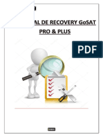 Tutorial de Recovery GoSAT PRO & PLUS