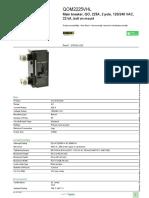 Square D™ QO™ and QOB Miniature Circuit Breakers_QOM2225VHL