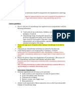 chemotherpy handling and administariont.docx