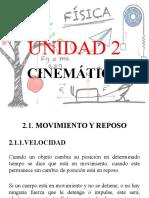 UNIDAD 2 CINEMATICA