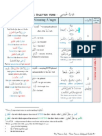 The 5 Letter Verb Table 2