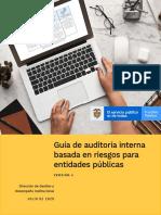 Guía de auditoría interna basada en riesgos para entidades públicas - Versión 4 - Julio de 2020 (1)