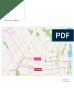 Mapa de ciclovías