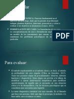 IMPORTANCIA DE EVA CLINICA
