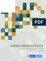 Executive Summary Green Growth Policy