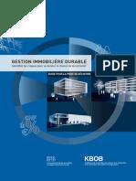 Gestion Immobilière durable - guide
