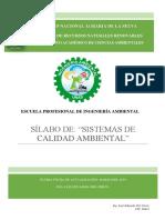 Sistemas de calidad ambiental