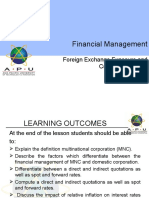 Topic 9 Foreign Exchange Exposure and Currency Hedging ppt