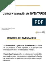 Control y valuacion de inventarios