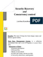 Security Recovery