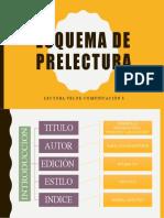 ESQUEMA DE PRELECTURA