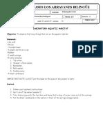 Lab guide. aquatic habitat