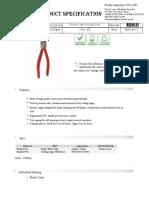 Pro's kit Cutting Pliers PM-806B