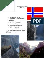 Relieful Norvegiei