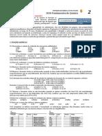 2019 PADRÃO 2 Fundamentos Química