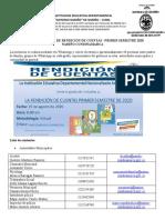 Rendicion Cuentas I2020 Grupo Logistica