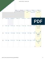 Calendario Judío