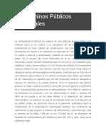 Los Caminos Públicos Municipales - copia