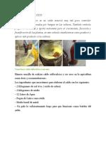 Cómo preparar un caldo sulfocálcico y su uso como fungicida