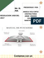 manual de funciones  del  sena  PROF. ADRIANA