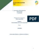 Unidad 1. Generalidades de la oferta exportable_Actividades