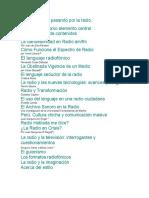 La radio - Textos de antología