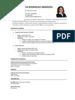 MODELO CV CERTUS - CON EXPERIENCIA LABORAL