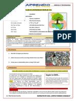 CLASE 6 - EXPLICAMOS LA INFLUENCIA DEL MEDIO AMBIENTE PARA TOMAR MEDIDAS SALUDABLES