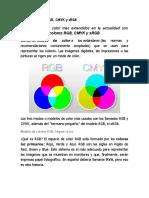 RGB y CMYK